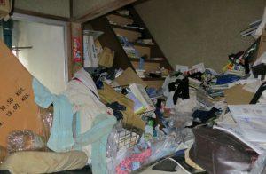 ゴミ屋敷山積み荷物