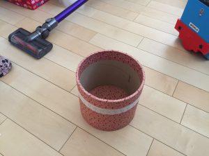 手作りのゴミ箱