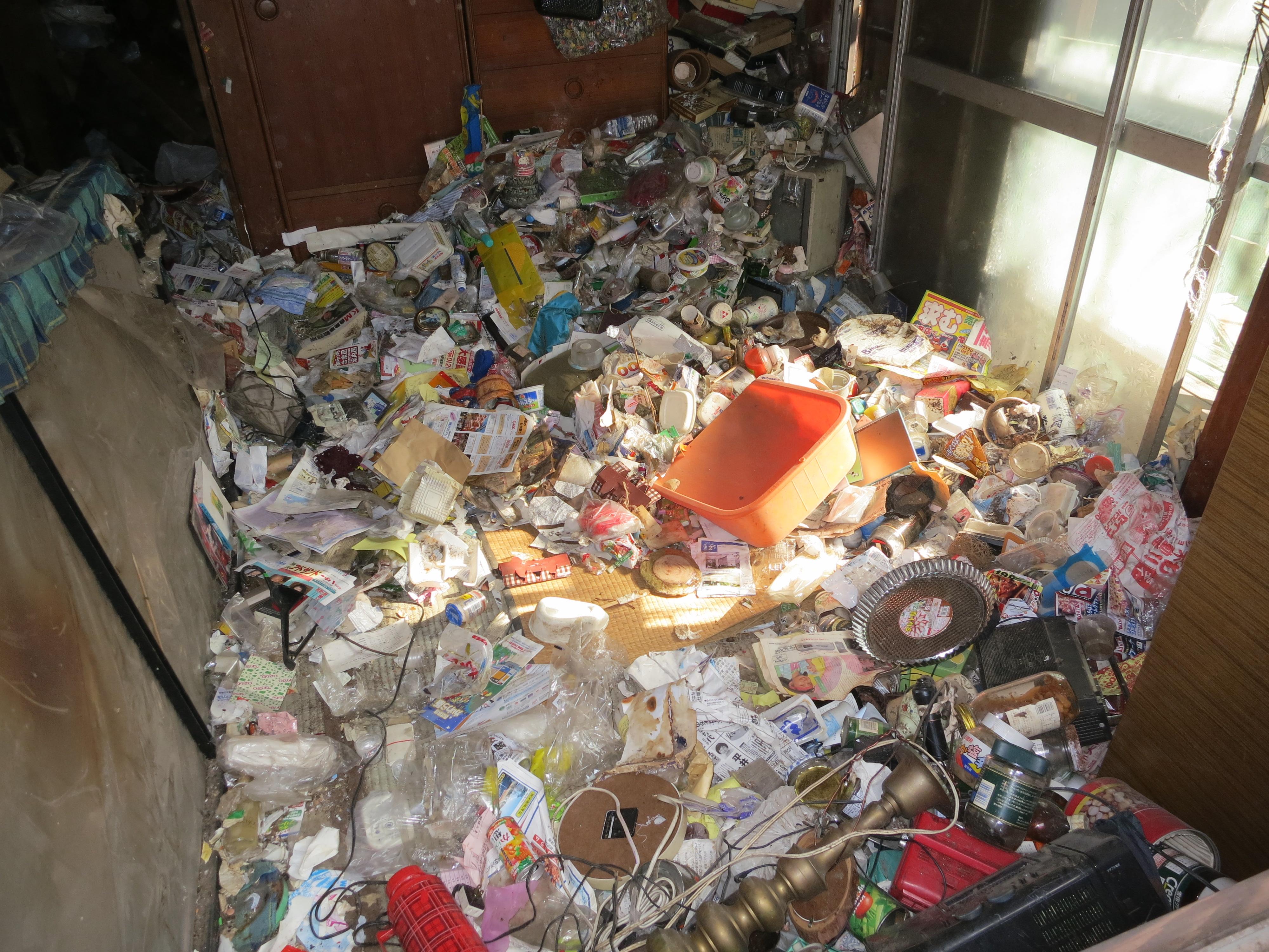 【アルファ現場レポート】ゴミ屋敷で孤独死。現場の惨状。~ゴミと害虫と臭いとの戦い~@埼玉県さいたま市北区