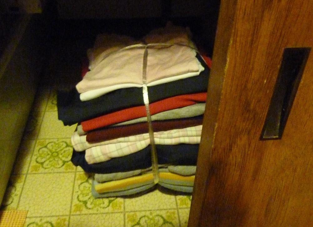 衣類を処分する