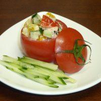 トマトの丸ごとカップサラダ