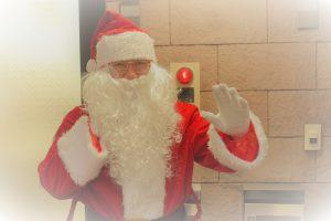 サンタがやってきた