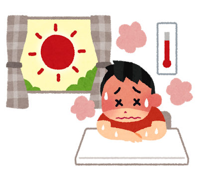 熱中症に注意